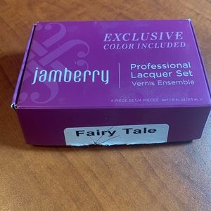 Jamberry Makeup - Jamberry Fairy Tale lacquer set. Discontinued. New